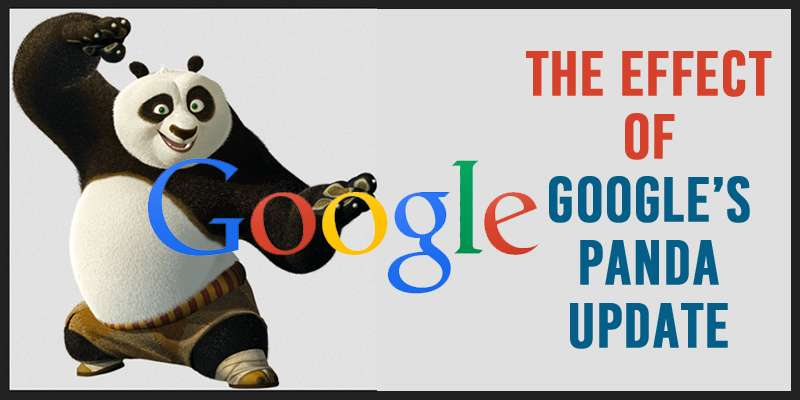 The Effects of Google's Panda Update