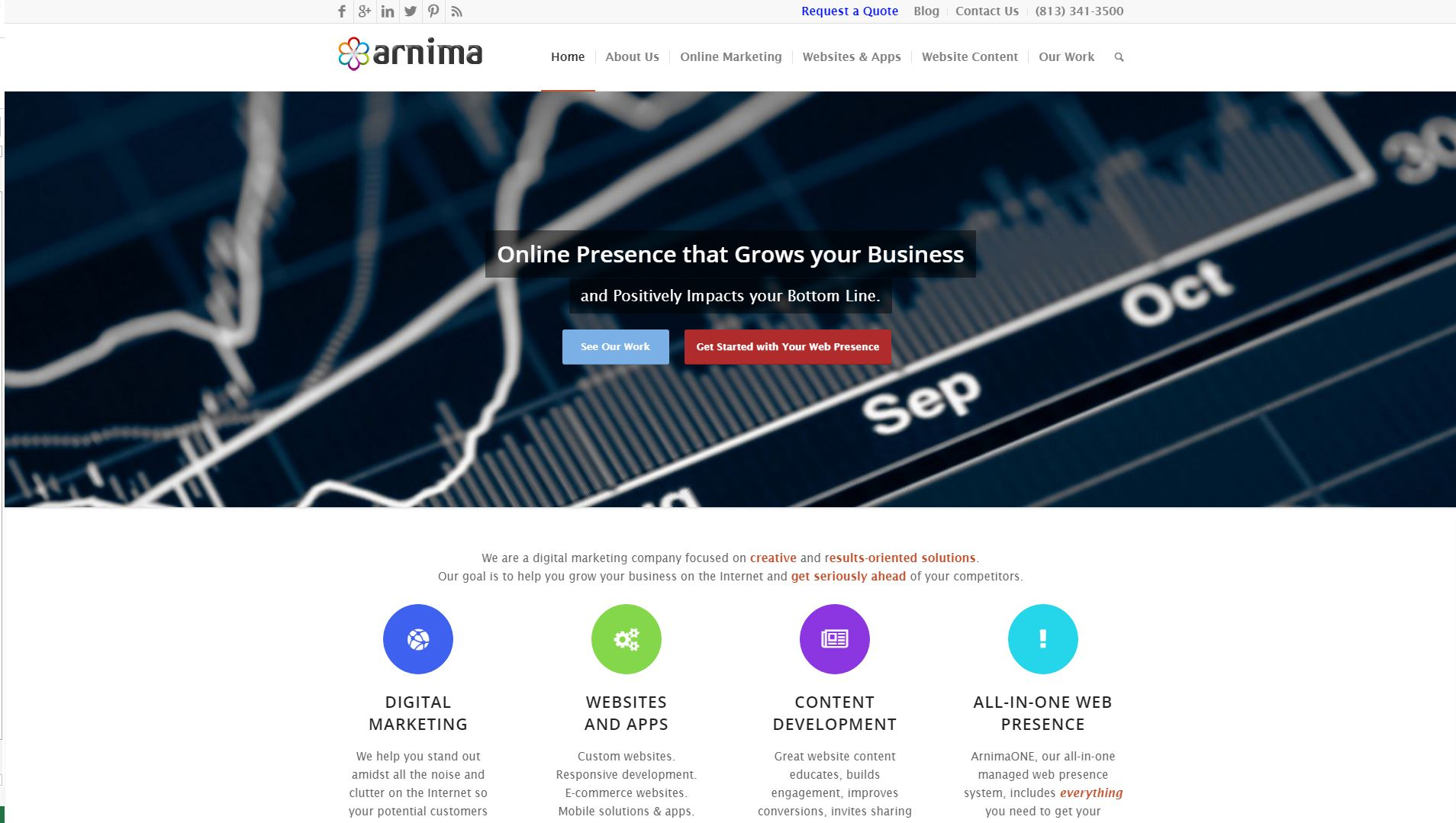 Arnima Design New Website