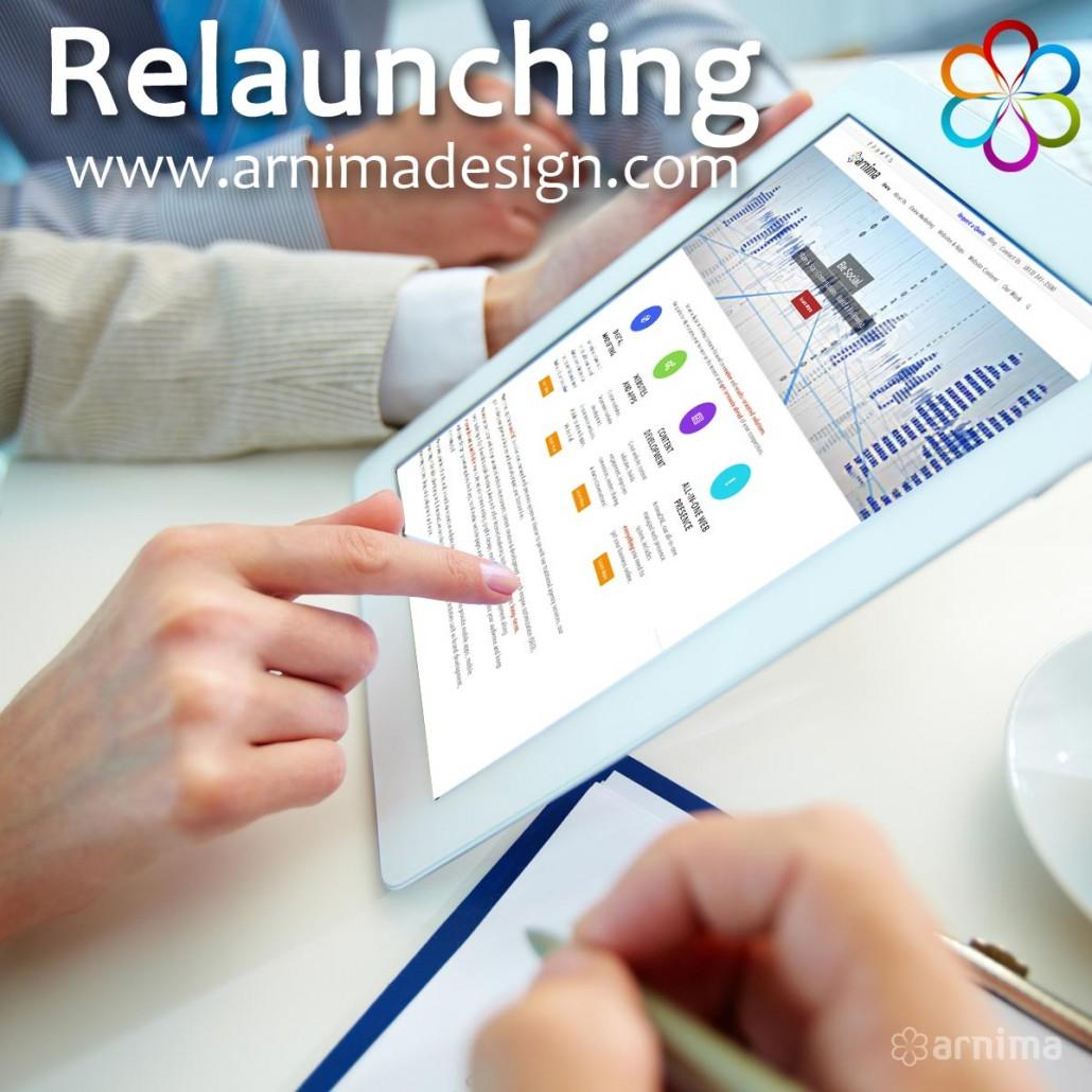 Relaunching Arnima.com