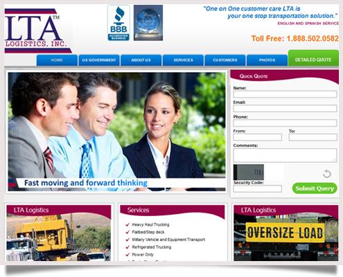 LTA Logistics Website