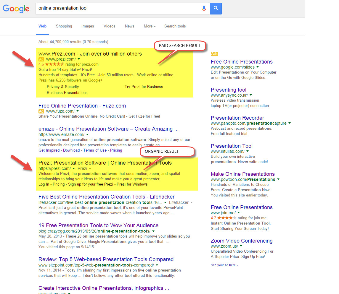 The Difference between Organic and Paid Search Engine ...
